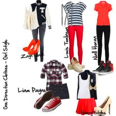 One Direction Girl Version I love nialls outfit