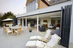 Extension Ideas, Folding Doors, Outdoor Decor, Kitchen, Home Decor, Accordion Doors, Cooking, Decoration Home, Room Decor