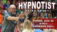 We hoped you enjoyed Rockin' at the Rec yesterday! Come to Johnson Hall tonight to be hypnotized… #welcomeweek #goeagles