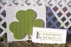 Six Sisters' Stuff: 10 Easy and Inexpensive St. Patrick's Day Craft Ideas