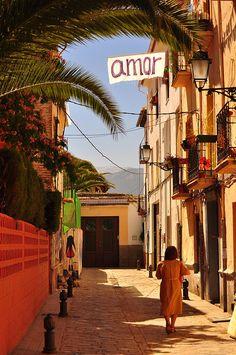 Realejo, Granada, Spain.