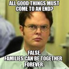 Families Can Be Together Forever! Not sure if this goes on my 'giggle' board or my church one. :)