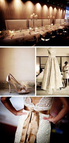 Champagne Wedding Decor
