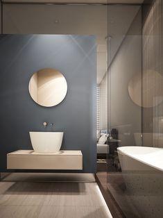 Baños minimalista/ Decoracion baño: Baño minimalista. #decoracionbaño… #casasminimalistasinteriores