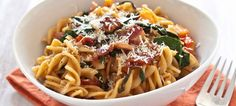 Whole-Grain Spaghetti With Garlicky Kale and Tomatoes | Cooking Recipes