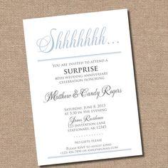 Black Damask Invitation Printable - Bridal Shower, Adult Birthday ...