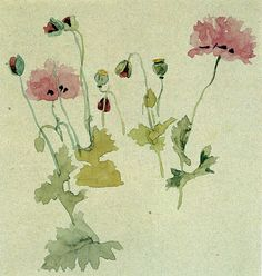 !Kate Greenaway by Ina Taylor -Poppies by mpt.1607, via Flickr