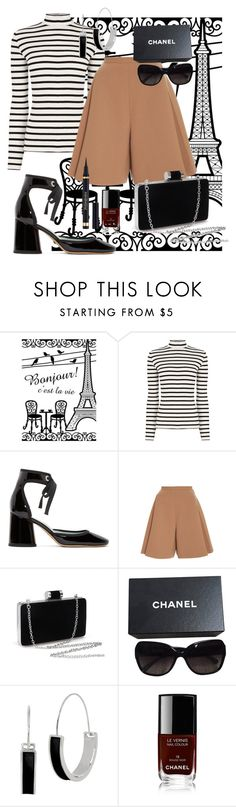 """""""Pariser Chic"""" by thearthurs ❤ liked on Polyvore featuring Oasis, Marc Jacobs, Delpozo, Chanel and Kenneth Cole"""
