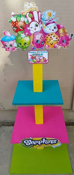Resultado de imagen para fiesta de shopkins 4th Birthday Parties, Diy Birthday, Shopkins Bday, Shopkins Game, Birthday Gifts For Bestfriends, Shopkins And Shoppies, Party Shop, Crafts, Birthdays
