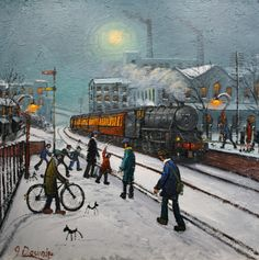 James Downie - The Train To Work