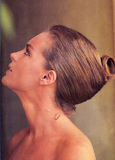 A German French actress Romy Schneider@