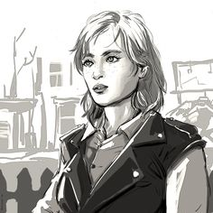 I can't explain and won't even try Fallout 4 Cait, Fallout 4 Piper, Fallout Art, Fallout 4 Companions, Post Apocalyptic Series, Nuclear Winter, World On Fire, Fall Out 4, Long Stories