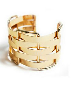 Golden-weave cuff.  Lydell NYC cuff
