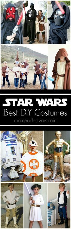 Best DIY Star Wars Halloween Costumes - great Star Wars costumes for Star Wars fans! Halloween Costumes Pictures, Star Wars Halloween Costumes, Diy Halloween Costumes, Costume Ideas, Halloween Party, Halloween 2017, Halloween Crafts, Happy Halloween, Zombie Costumes