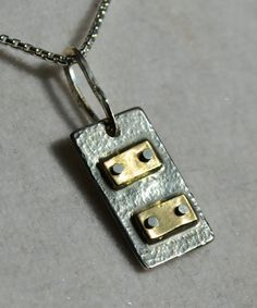 Industrial necklace  handmade artisan designed by MaggiDesigns, $155.00