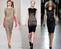 Voguish cocktail dresses for fall 2013