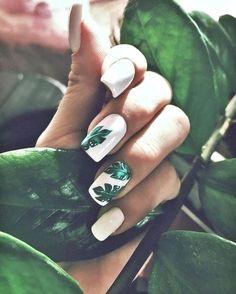 nail art summer \ nail art designs + nail art + nail art designs for spring + nail art videos + nail art designs easy + nail art designs summer + nail art diy + nail art summer Green Nail Art, Green Nails, Purple Nail, Ombre Nail, Floral Nail Art, Black Nails, Summer Acrylic Nails, Best Acrylic Nails, Summer Nail Art