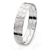 Born Together Twins Bangles   Stylish designer bangle for twins, this beautiful eye-catching jigsaw design bangle can be worn together as one beautiful solid silver piece or separated and worn by each twin. This celebrates the unique bond that twins share and is a wonderful keepsake item of jewellery to be treasured forever. Twins - Born together, friends forever BTFF  £330.00  http://www.twinsgiftcompany.co.uk/born-together-twins-bangles-p-409.html