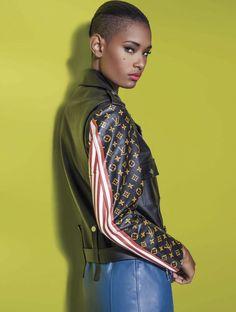 Ysaunny Brito by Jacques Dequeker for Vogue Mexico - Louis Vuitton