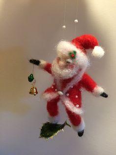 Nadel Gefilzte Santa Claus Waldorf von DreamsLab3 auf Etsy