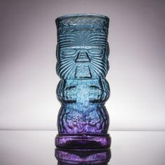 Glass Tiki Mugs
