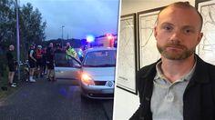 Bilist rammade Carl – för att han cyklade på vägen.