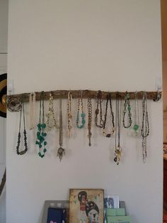 Branches, Twigs & Woods : Tree Branch Jewelry Holder Display Rack