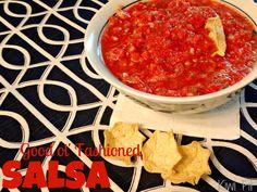 {Good ol' fashioned salsa} - Kiwi Fit Blog
