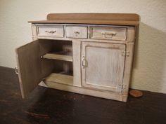 dollhouse miniature furniture in walnut by bagusitalyminiatures