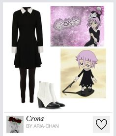 I finally found a casual cosplay for Crona