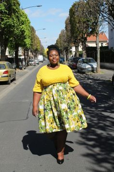 French Curves : Flower Power | The curvy and curly closet, blog mode ronde, fatshion, plus size