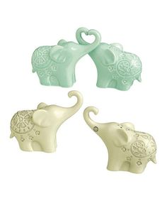 Loving this Elephant Salt & Pepper Shakers - Set of Two on #zulily! #zulilyfinds