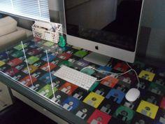 floppy disc desktop