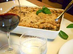 Kvinoalaatikko chilillä&suppilovahveroilla