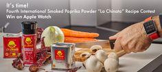 """IV International Smoked Paprika Powder """"La Chinata"""" Recipes Contest  #smokedpaprikapowder #recipescontest"""