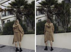 StolenInspiration.com | Camel Coat, Glassons, Miu Miu Sunglasses, Weekday Top, Vagabond Boots via Shoe Connection | Fashion Blogger