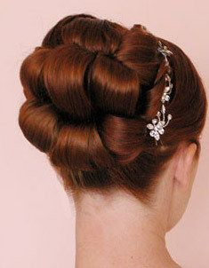 This is pretty and it would keep the hair up outta my way :)