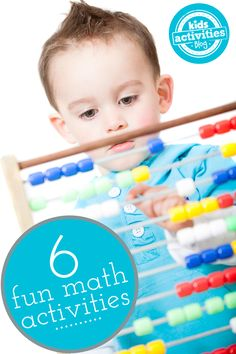 6 Ways to Practice Fun Math Math Activities For Kids, Math For Kids, Kids Learning, Math Games, Creative Teaching, Teaching Math, Teaching Ideas, Toddler Fun, Toddler Preschool