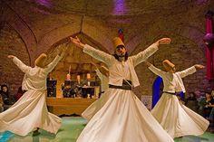 Sufi whirling...dervish religion