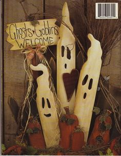 Ghosts And Goblins Welcome-woodworking Patterns-halloween…
