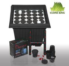 Amazon.com: Clone King 25 Site Aeroponic Cloning Machine Expect 100% Success Rates: Patio, Lawn & Garden