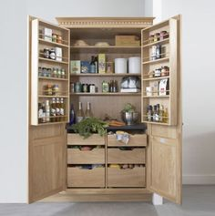 Nicely done pantry cupboard but would want minimum 2m width (ie appliance bench inside to be 2m long).