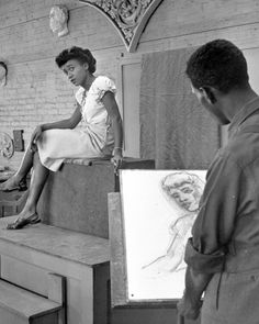 1946 Portraits at Howard University