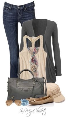 """""""Floral Scarf"""" by in-my-closet on Polyvore"""