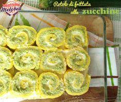 Rotolo+di+frittata+alle+zucchine+e+philadelphia