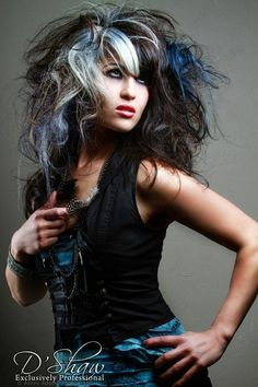 Love the hair and the outfit. I do not own this image.