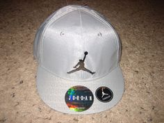 3da4242f62c  nike jordan jumpman toddler boys snapback hat cap silver 2-4t from  1999