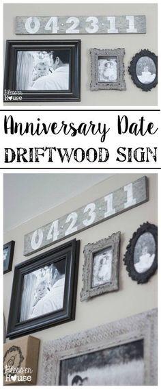 DIY Anniversary Date