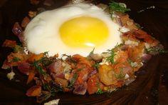 Яичница по-грузински пошаговый рецепт с фото