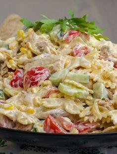 Easy Healthy Recipes, Vegetarian Recipes, Pasta Recipes, Salad Recipes, I Love Food, Good Food, Food For The Gods, Pak Choi, Crudite